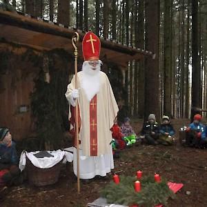 Sei gegrüßt lieber Nikolaus!