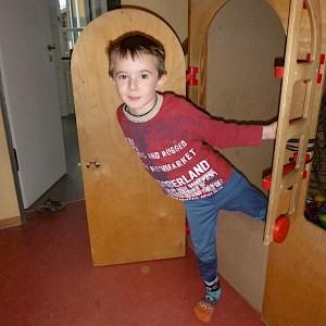 Besuch im Hauskindergarten