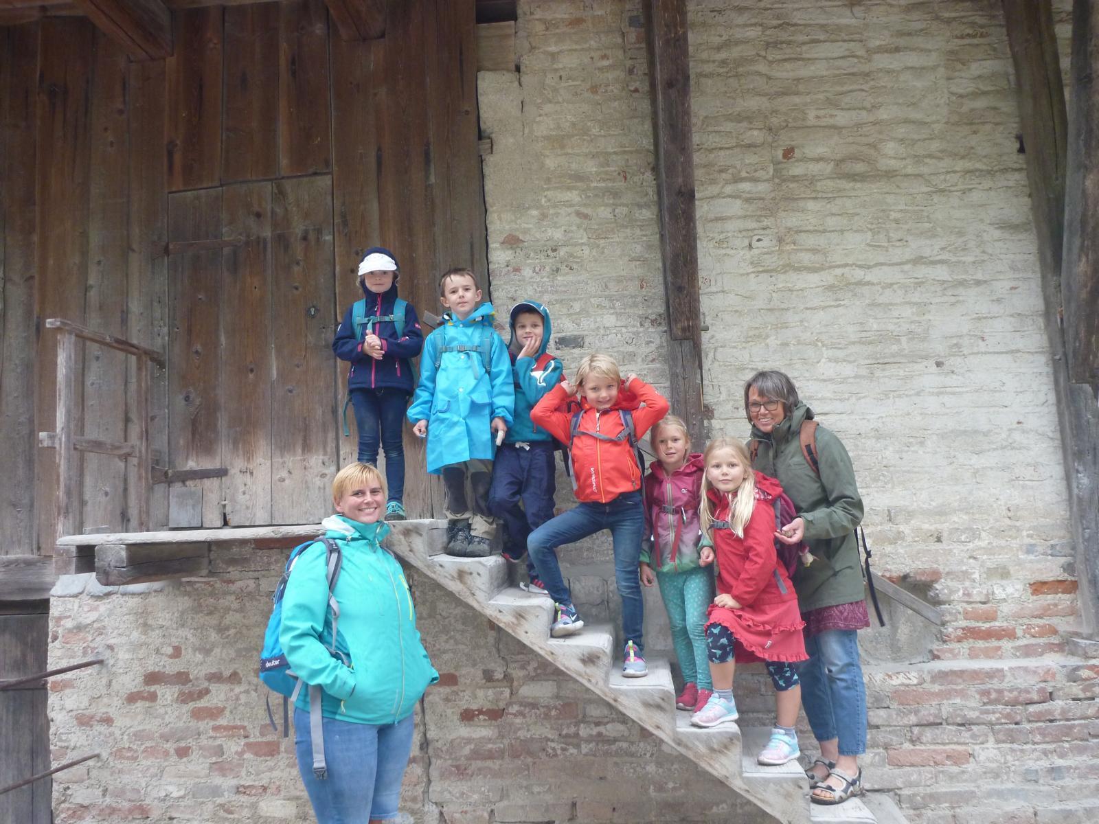 Besuch auf der Burg Trausnitz