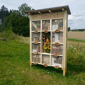 Das neue Insektenhotel